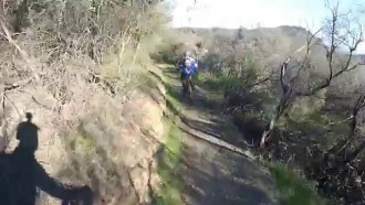 Backbone Trail Santa Monica with Gee
