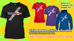 United Adobo Tire Track Shirt