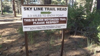 Skyline Trail - Big Bear
