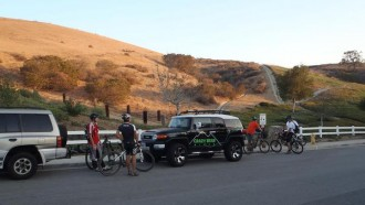Las Llajas and Chumash Loop Night Ride